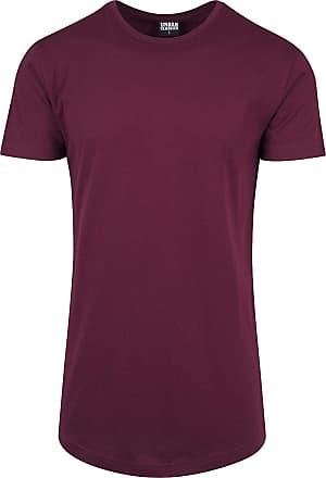 42959cc7ff317b Urban Classics Shaped Long Tee - T-Shirt - weinrot