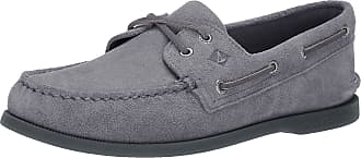 Sperry Top-Sider Sperry A/o 2-Eye Suede Slip On Shoes UK 10.5 Grey