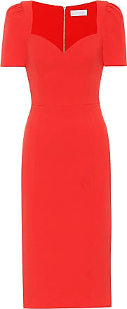 Rebecca Vallance Lamour crêpe midi dress