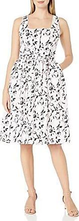 Helene Berman Womens V Back Floral Jacquard Dress