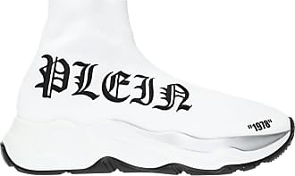 Philipp Plein Sport Shoes With A Sock Womens White