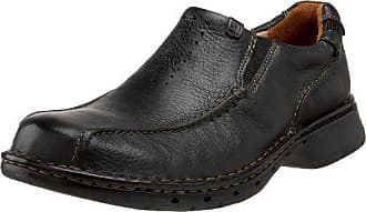 Clarks Unstructured Mens Un.Seal Casual Slip On,Black,8 M US