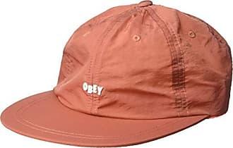 4e5aa9e361bb6 Obey Mens Lennox 6 Panel Strapback HAT