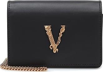 Versace Borsa a spalla Virtus Small in pelle