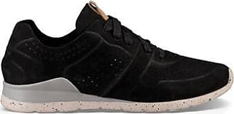 UGG Womens Tye Trainer in Black, Size 3, Leather