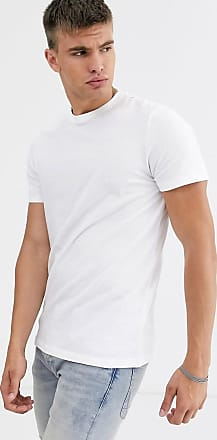 New Look t-shirt with crew neck in white