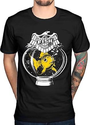 AWDIP Official 2000AD Judge Fish T-Shirt Black