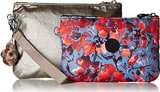 Kipling womens Iaka Large Wristlet Pouch Set, Festive Floral Mix, One Size