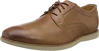 Raharto Clarks Tan EU Leather45 HommeMarronDark PlainDerbys f7yYb6g