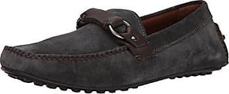 Frye Mens Allen Ring Keeper Slip-On Loafer, Charcoal, 10 D US