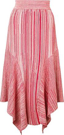 Yigal AzrouËl melange knit skirt - Red