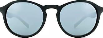 HB Óculos de Sol Hb Gatsby 9010000101/53 Preto Fosco Espelhado Cinza