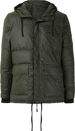Osklen padded hoodie - Green