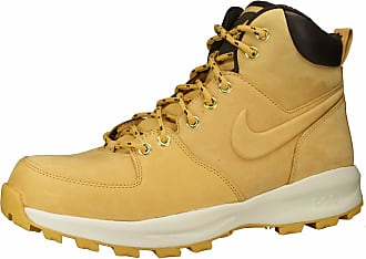 be1180d00b9 Nike Bota Nike Manoa Leather Yellow Boot Brooklyn Limited Edition (44)