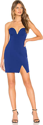 About Us Alessia Bodycon Dress in Royal