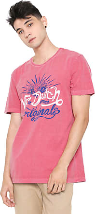 Von Dutch Camiseta Von Dutch Originals LA Vermelha