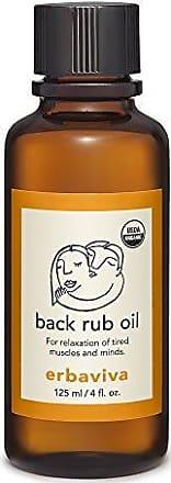 Erbaviva Erbaviva Back Rub Oil, 4 Ounce
