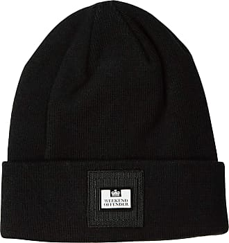 Weekend Offender Pedar Beanie Hat - Black - Unisex (One Size)