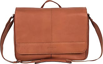 Kenneth Cole Reaction Kenneth Cole Reaction Laptop Messenger Bag, Cognac