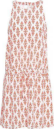 Joie Joie Woman Printed Silk Crepe De Chine Mini Dress Red Size S
