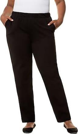 fa1d6edefd65db Ulla Popken Jerseyhose Damen Größe 58 60, schwarz, Mode in große Größen