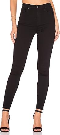 GRLFRND Kendall Super Stretch High-Rise Skinny Jean in Black