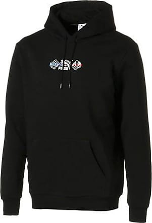 Chic PUMA Men's Essential Hoodie Fleece Big Logo Sweatshirt