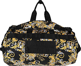 Versace Jeans Couture Travel Bags - Macrologo Backpack Black/Gold - black - Travel Bags for ladies