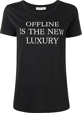 Quantum Courage Camiseta com estampa - Preto