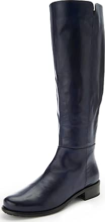 Gerry Weber High boots in 100% leather Gerry Weber blue