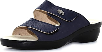 Valleverde shoes woman slippers 25312 BLUE size 39
