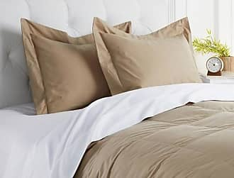 Concierge Collection 100% Cotton 2-pack Shams - King