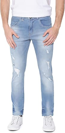 1306bc587 Rock & Soda Calça Jeans Rock&Soda Slim Destroyed Azul