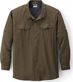 Columbia Mens Silver Ridge Lite Long-Sleeve Shirt Big Sizes