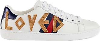 Gucci Tênis Ace com bordado - Branco