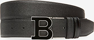 Bally B Buckle Enamel Black 110