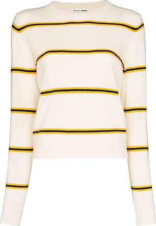 Reformation Suéter de cashmere com listras - Neutro