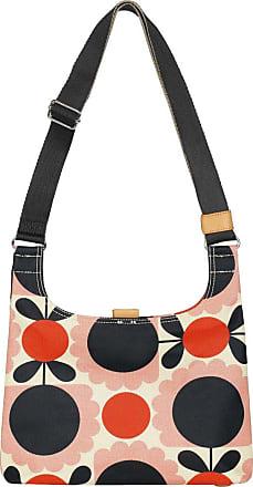 Orla Kiely Womens Mini Sling Blush Scallop Flower Spot Bag Cross Body Handbag, Multicolour (Blush), 29x21x10.5 cm (W x H x L)