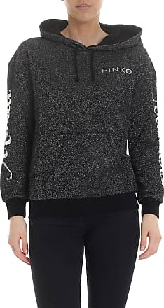 Pinko Novantanove sweatshirt in black lamè