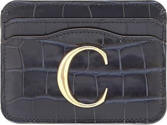 Chloé C leather card holder