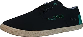 Firetrap Attack Pump / Espadrille Summer Deck Shoe (4UK / 37EUR, Black)
