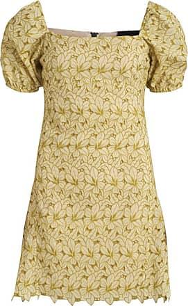 YELLOW Dress with logo  Balmain  Hverdagskjoler - Dameklær er billig