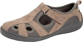 Boulevard Shyla Ladies Leather Casual Shoes Beige UK 9
