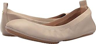 Yosi Samra Samara (Simply Taupe Leather) Womens Flat Shoes