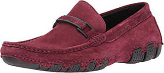 Kenneth Cole Reaction Mens Design 20474 Driving Style Loafer, Burgundy, 8.5 M US