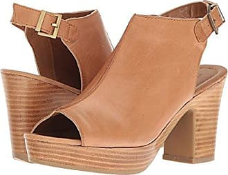 Kenneth Cole Reaction Womens Tole-Tally Heeled Sandal, Butterscotch, 8 M US