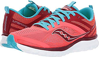 Saucony Womens Miles Sneaker,Coral Blue,5.5 Medium US