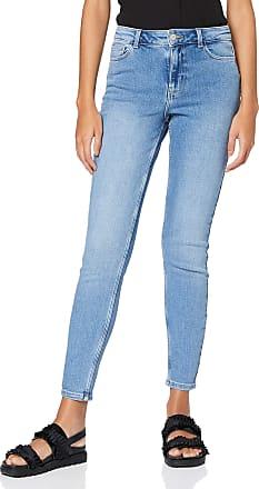 Pieces Womens Pckamelia Skn Mw ANK Lb143-vi/noos Bc Jeans, Light Blue Denim, S