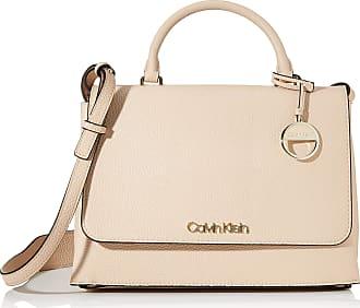 Calvin Klein Sided Top Handle, Womens Satchel, Pink (Light Sand), 1x1x1 cm (W x H L)