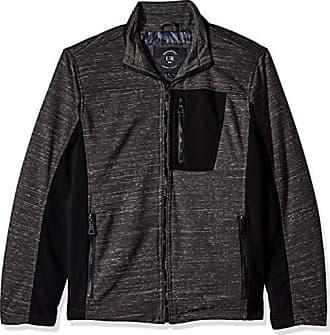 Urban Republic Mens Melange Jersey Jacket, Gray, M